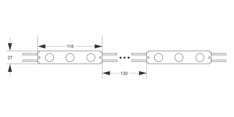 led modul, led module, led moduli, led diode, diode, svetlece reklame, 3d slova